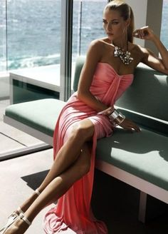 great color dress