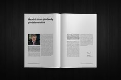 Annual Report | Czech transmission system on Behance