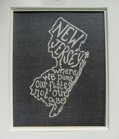 New Jersey Where We Pump Our Fists Not Our Gas