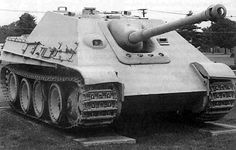 """Jagdpanther,"" hunting panther, German Tank Destroyer"