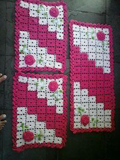 Lindo Blanket Shawl, Pot Holders, Washroom, Games, Cross Stitch, Craft, Cute, Plants, Hot Pads