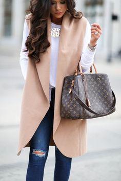 Louis Vuitton New Handbags, The Best Choice For Gifts. Louis Vuitton New Handbags, The Best Choice For Gifts. Mode Outfits, Fall Outfits, Casual Outfits, Fashion Outfits, Womens Fashion, Fashion Trends, Fashion Bags, Fashion Handbags, Fashion Purses
