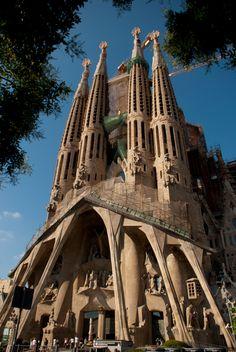 La Sagrada Familia, Barcelona, Catalunya, Spain