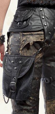 Unisex - Sidewinder - Unisex Vegi Leather Tool Belt - Style #m27-192