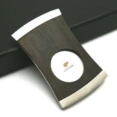 COHIBA Cigar Cutter EBONY Wood Cigars And Whiskey, Good Cigars, Pipes And Cigars, Cuban Cigars, Whisky, Cohiba Cigars, Cigar Accessories, Cigar Room, Southern Comfort
