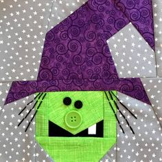 Patterns for quilters paper piecers and sewists by madebymarney Halloween Quilt Patterns, Halloween Quilts, Holiday Quilt Patterns, Halloween Sewing Projects, Halloween Crafts, Halloween Ideas, Quilting Projects, Quilting Designs, Quilting Tips