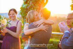 Autumn wedding at sunset at @thegarrisonny  - NY wedding photographers Ulysses Photography