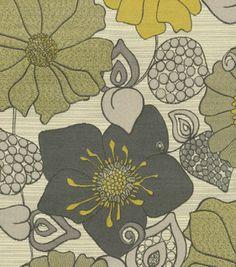 Richloom Studio Upholstery Fabric Abigail Daffodil, , hi-res