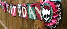 Monster High Birthday on Pinterest | Monster High Party, Monster ...