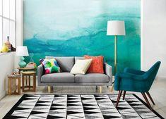 peinture-eau-idees-murs-bleu-vert-tapis-graphique-canape-gris