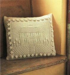 Twilleys--Knitted Cushion Cover