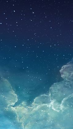 Starry night sky iPhone 5s wallpaper