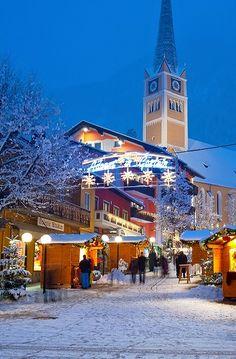 Advent Markets in Bad Hofgastein, Austria