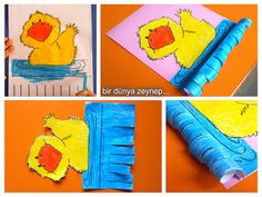 #preschool #okulöncesi #kindergarten #sanatetkinliği #kidscraft #ördek