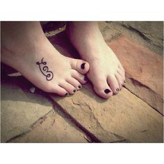 Foot Tattoo... Put LIVE on the other