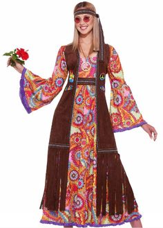 28 Best Hippie Costume Ideas for 2018 - Cool Hippie Halloween Costumes for Men & Women 60s Costume, Last Minute Halloween Costumes, Halloween Fancy Dress, Adult Costumes, Costumes For Women, Costume Ideas, Adult Halloween, 1960s Halloween, Halloween Club