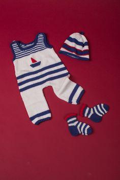 Kostenlose Anleitung: Baby-Outfit: Strampler, Mütze, Söckchen - Initiative Handarbeit