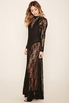 maxi dress lace patterns