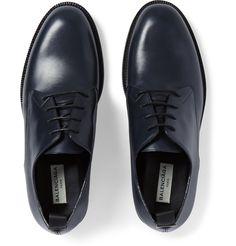 Balenciaga - Commando-Sole Leather Derby Shoes