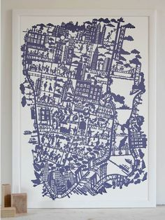 62 best cool maps images on pinterest cartography charts and new york city papercut map gumiabroncs Gallery