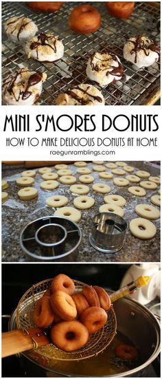 the best mini donut recipe I've found super easy and tasty for dessert or breakfast: