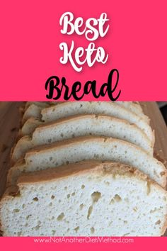 Weight Loss Plans For Moms best keto bread recipe Coconut Flour Bread, Almond Flour Recipes, Bread Recipes, Keto Recipes, Healthy Recipes, Healthy Tips, No Bread Diet, Best Keto Bread, Egg And Grapefruit Diet