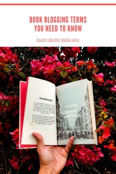 All new book bloggers need to know these book blogging terms. This directory of book blogging terms will help you decode book blogging jargon. New Books, Good Books, Books To Read, Reading Slump, Reading Facts, Book Hangover, Starting A Book, Indie Books, Create Image