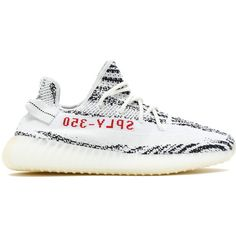 AUTHENTIC This Yeezy Boost 350 features a combination of white and black on  the Primeknit upper in a zebra-like pattern. 380c3086a