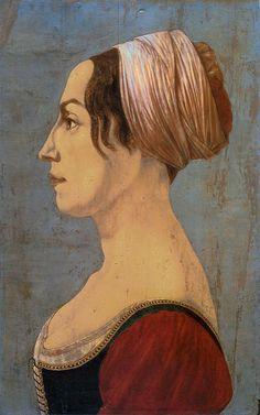 Piero del Pollaiolo - Portrait of a woman (Gardner Museum).jpg