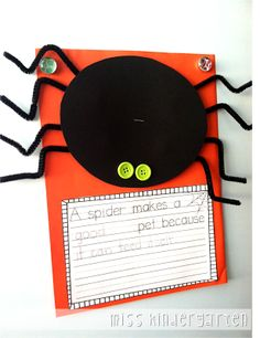 Miss Kindergarten: Argh Spider! {a mini unit}