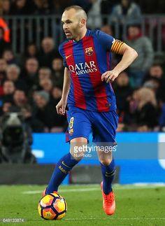Fotografía de noticias : Andres Iniesta during La Liga match between F.C....