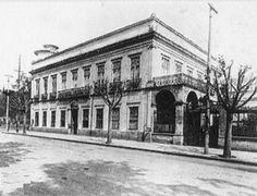 1894 - Solar do Marquês de Três Rio, onde começou a Escola Politécnica, na praça Fernando Prestes no Bom Retiro.