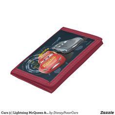 WALLET - Cars 3 | Lightning McQueen & Jackson Storm Tri-fold Wallet