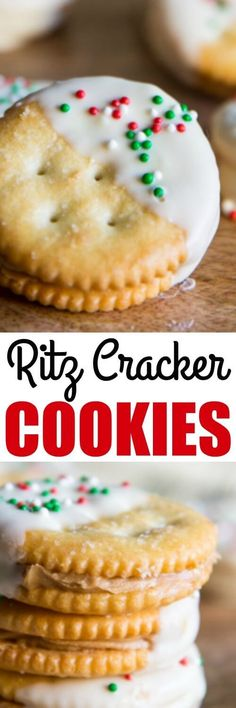 With just 3 ingredients, these Ritz Cracker Cookies are the EASIEST no-bake sweet and salty treat, ever. Even the kids can help assemble these!