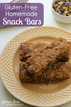 If you often eat on-the-go and want an option that's more frugal than expensive pre-made bars, these homemade Chocolate Chip Walnut Snack Bars are a hit at my house.