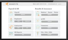 Zenefits is a free HR SaaS solution great for businesses of any size: http://www.getapp.com/blog/zenefits-review/