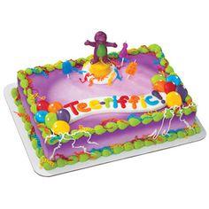 Barney cake- for Mackenzie Barney Birthday Cake, 2yr Old Birthday, Barney Cake, Barney Party, 2nd Birthday, Birthday Cakes, Cupcake Cake Designs, Cupcake Cakes, Kid Cakes