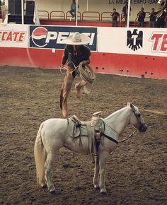 charros de mexico | Charro in action (CC photo by Lamazone courtesy of Flickr)