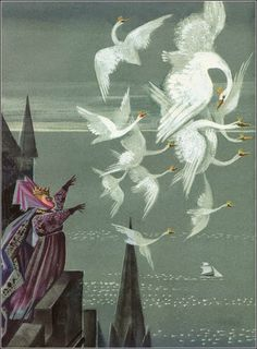 """Once Upon A Blog...: Fairy Tale Hidden Treasures Blog Hop (Guest Post by Tahlia Merrill): """"The Wild Swans"""" by Hans Christian Andersen"""
