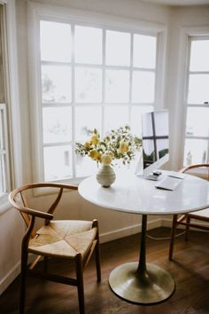 5 ways I like to jumpstart the week., Home Decor, 5 ways I like to jumpstart the week. Target Home Decor, Diy Home Decor, Room Decor, Home Living, Apartment Living, Living Room, Table And Chairs, Dining Table, Home Interior