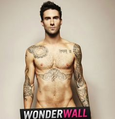 No. 1: His body is just … wow!Back in 2011, Adam Levine stripped down in Cosmo U.K. to raise awareness for prostate and testicular cancer, and it was just glorious. Is there anything else we really need to say? Game. Set. Match.RELATED: The hottest celeb eye candy of 2013
