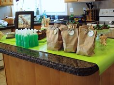 """Photo 4 of 5: Paleontologist Dinosaur Dig / Birthday """"4th Birthday Party for my Dino Expert""""   Catch My Party"""