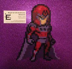 Magneto X-Men Perler Design by Amber--Lynn on deviantART