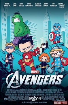 THE AVENGERS - Exclusive SDCC Poster by Skottie Young — GeekTyrant