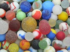 Lake Erie Beach Glass Marbles