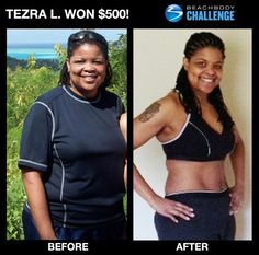 Terrific job Tezra.  You can change too. You could be the next winner of $500 or up to $100,000. Ask me how. www.ryanwilliamsfitness.com