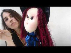 Morgana Magia Ateliê: Como Fazer boneca de Pano Bruxinha Zerinda-Com Molde