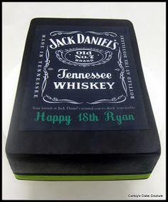 jack daniels birthday cake - Google Search