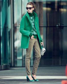 Emerald Green Fashion for Winter '13