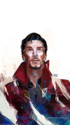Doctor Stephen Strange was an interesting man. Helped Theo Rangel her powers, and the raw astral magic coursing through her. Marvel Fanart, Marvel Dc Comics, Marvel Heroes, Marvel Avengers, Doctor Strange, Marvel Characters, Marvel Movies, Captain America, Benedict Cumberbatch